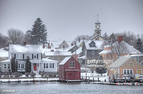 Blizzard in Portsmouth New Hampshire