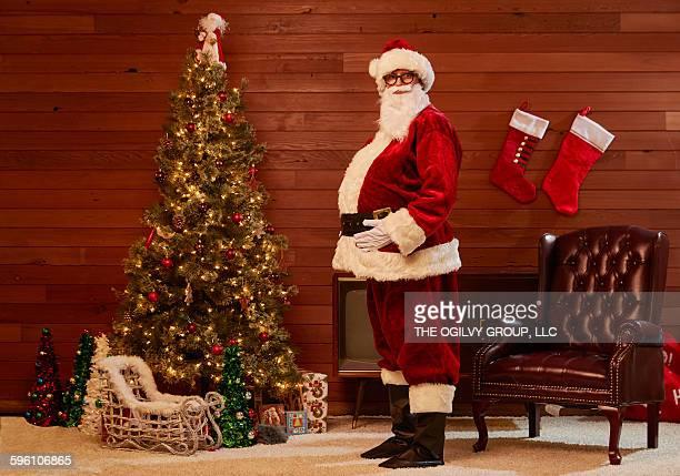 Bloated Santa.