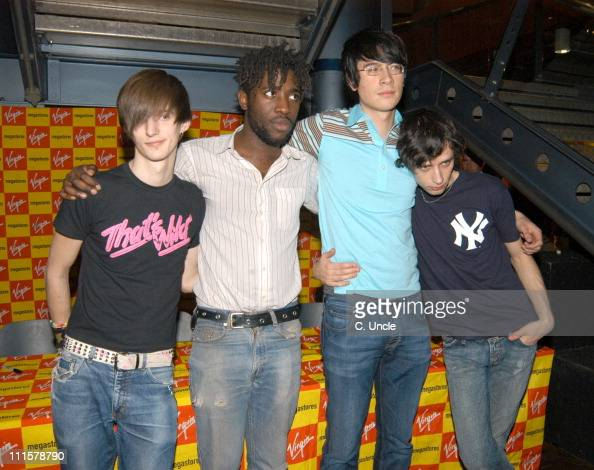 Bloc Party during Bloc Party Performs In Aid of Tsunami Victims February 14 2005 at Virgin Super Store in London United Kingdom