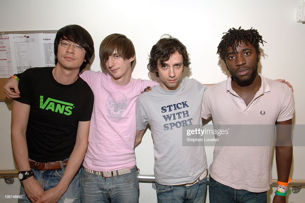 Bloc Party during Bloc Party Visits FUSE's 'Daily Download' - April 8, 2005 at FUSE Studios in New York City, New York, United States.