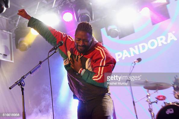 Bloc Party performs onstage during the PANDORA Discovery Den SXSW on March 19 2016 in Austin Texas