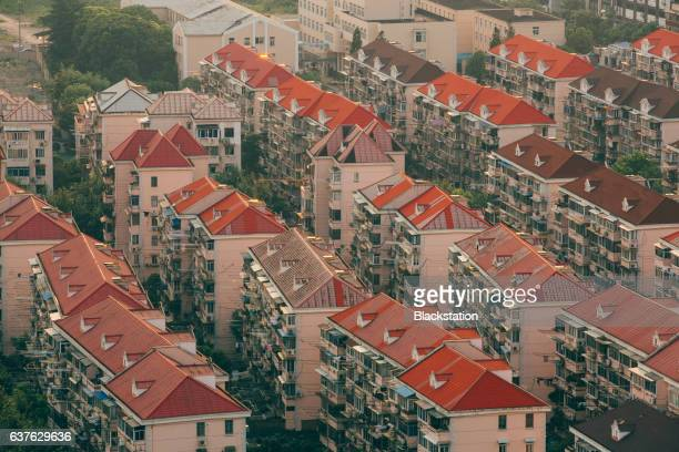 block of flats in Shanghai