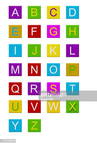Blocks with letters [ ll ] / XXL