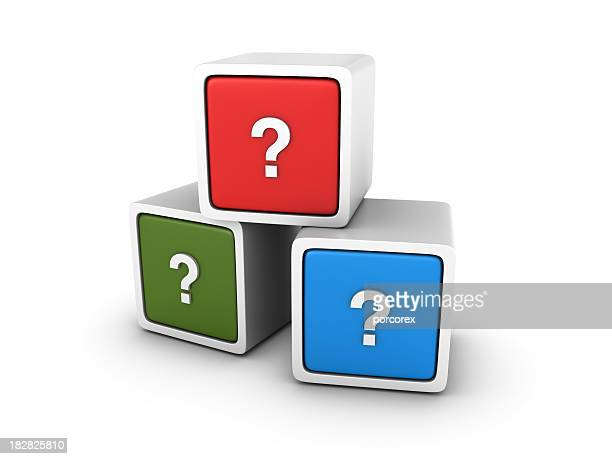 Blocks with Question Marks