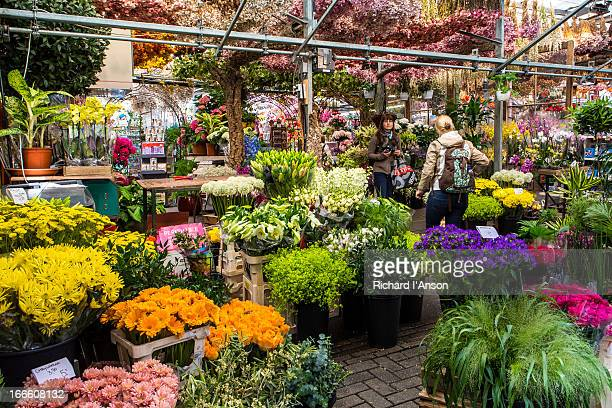 Bloemenmarkt flower market