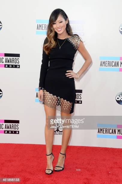 Blogger Aimee Song attends the 2013 American Music Awards at Nokia Theatre LA Live on November 24 2013 in Los Angeles California