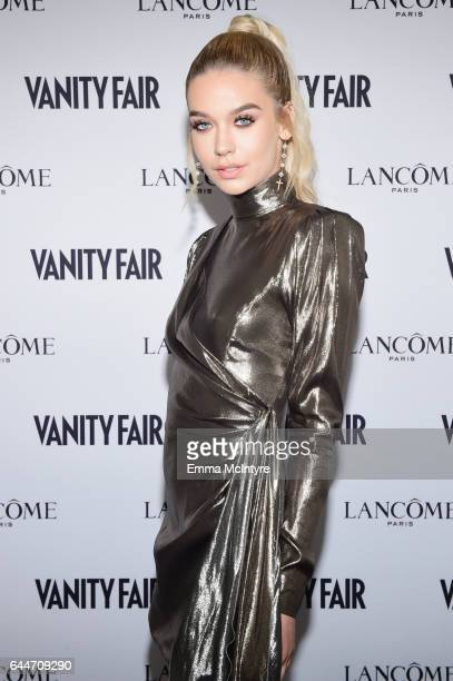 Blogger Amanda Steele attends Vanity Fair and Lancome Toast to The Hollywood Issue at Chateau Marmont on February 23 2017 in Los Angeles California