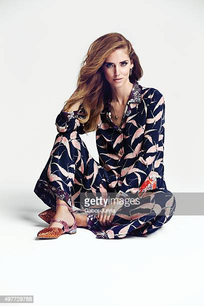 Blogger and fashion designer Chiara Ferragni is photographed for Fashion Magazine on August 6 2015 in Los Angeles California ON DOMESTIC EMBARGO...