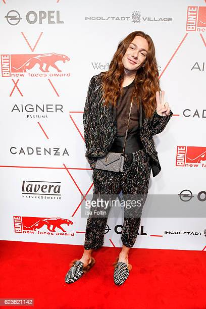 Blogger and Influencer Riccardo Simonetti attends New Faces Award Style on November 16 2016 in Berlin Germany