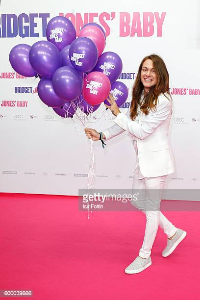 Blogger and Influencer Riccardo Simonetti attends the 'Bridget Jones Baby' German Premiere at Zoo Palast on September 7 2016 in Berlin Germany