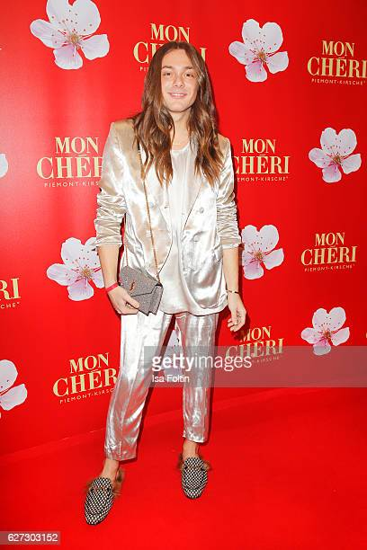 Blogger and influencer Riccardo Simonetti attends the Mon Cheri Barbara Tag at Postpalast on December 2 2016 in Munich Germany