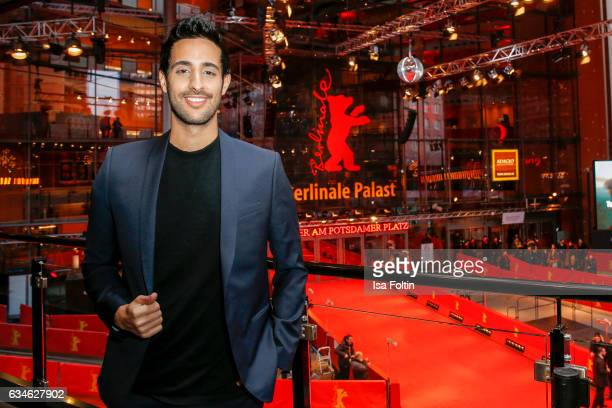 Blogger and Influencer Sami Slimani attends the Audi Lounge Night Audi At The 67th Berlinale International Film Festival on February 9 2017 in Berlin...