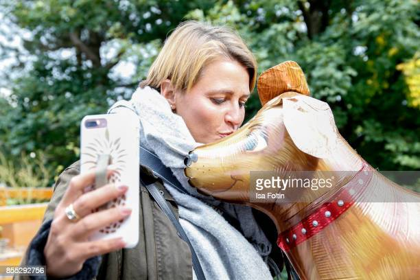 Blogger Annalena Huppert during the Purina and Vita Event on September 16 2017 in Huemmerich near Bonn Germany