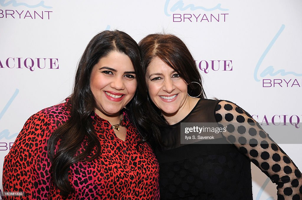 Blogger Ashley Falcon and SVP & Chief Marketing Officer Liz Crystal attend Carnie Wilson & Jay Manuel Celebrate Lane Bryant's NYC Flagship on February 28, 2013 in New York City.