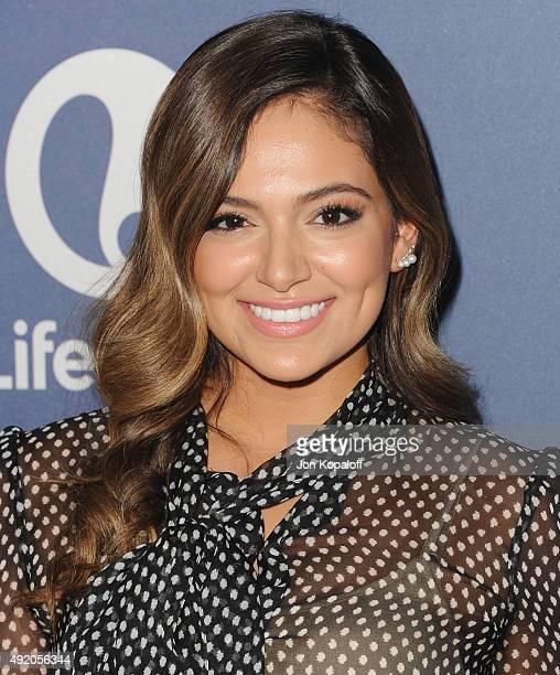 Blogger Bethany Mota arrives at Variety's Power Of Women Luncheon at the Beverly Wilshire Four Seasons Hotel on October 9 2015 in Beverly Hills...