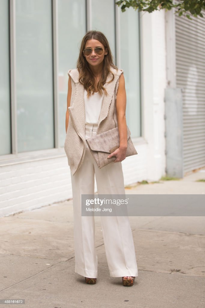 Street Style Day 6 New York Fashion Week Spring 2015 Getty Images
