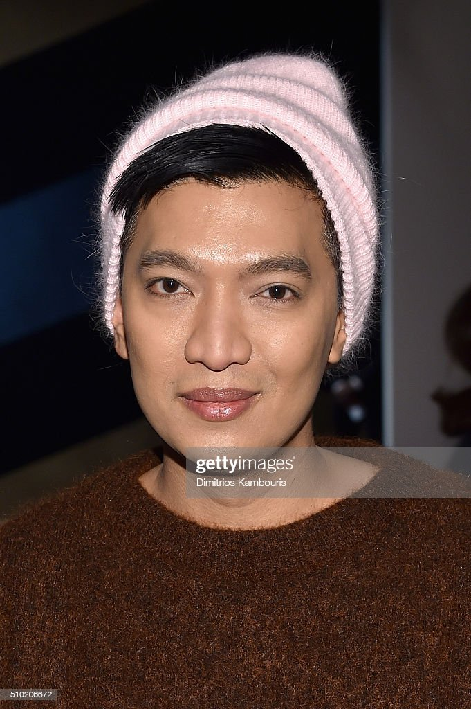 Blogger, Bryanboy, attends the Derek Lam Fall 2016 fashion show during New York Fashion Week: The Shows at The Gallery, Skylight at Clarkson Sq on February 14, 2016 in New York City.