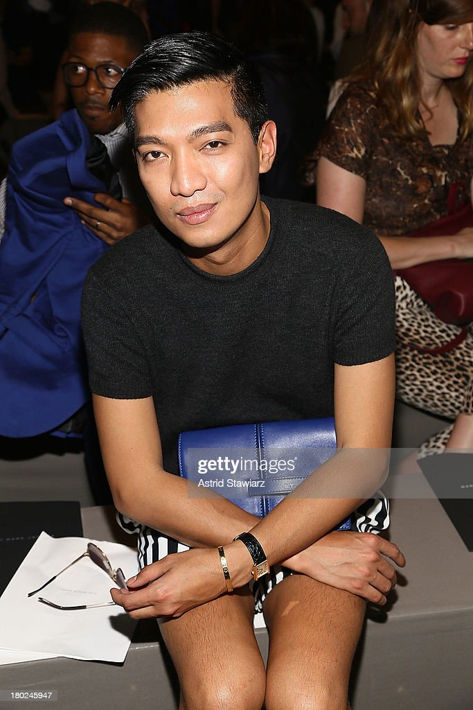 Blogger Bryanboy attends the Marc By Marc Jacobs fashion show during Mercedes-Benz Fashion Week Spring 2014>> at Pier 57 on September 10, 2013 in New York City.