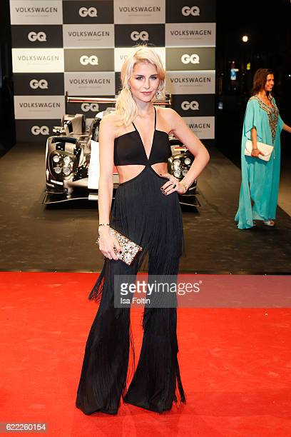 Blogger Caro Daur attends the GQ Men of the year Award 2016 at Komische Oper on November 10 2016 in Berlin Germany
