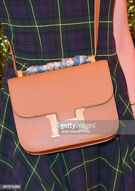 Blogger Chiara Ferragni attends the FifthAnnual Veuve Clicquot Polo Classic at Will Rogers State Historic Park on October 11 2014 in Pacific...