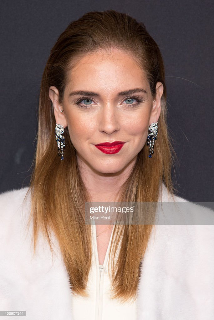 Blogger Chiara Ferragni attends The Maison Cartier Celebrates 100th Anniversary Of Their Emblem La Panthere De Cartier! at Skylight Clarkson Sq on November 12, 2014 in New York City.