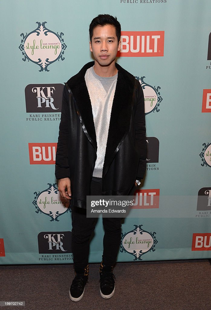 Blogger Jared Eng attends Day 1 of the Kari Feinstein Style Lounge on January 18, 2013 in Park City, Utah.