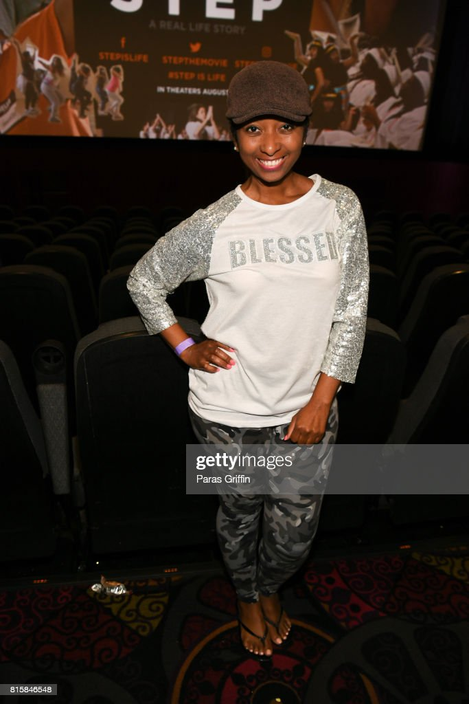 Blogger Kim Ford at 'Step' documentary Atlanta Screening at Regal Cinemas Atlantic Station Stadium 16 on July 16, 2017 in Atlanta, Georgia.