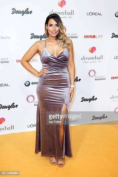 Blogger Lamiya Slimani attends the Dreamball 2016 at Ritz Carlton on September 29 2016 in Berlin Germany