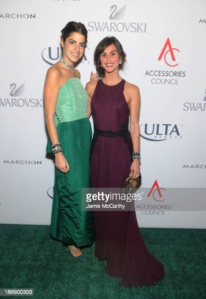 Blogger Leandra Medine and Designer Danielle Snyder of DANNIJO attend the 17th Annual Accessories Council ACE Awards At Cipriani 42nd Street on...