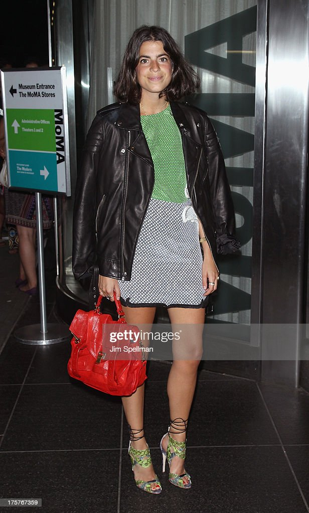 Blogger Leandra Medine attends 'Jobs' New York Premiere at MOMA on August 7, 2013 in New York City.