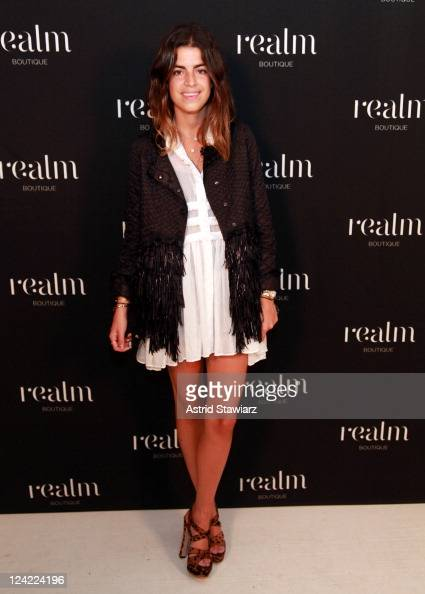 Blogger Leandra Medine attends Realm's Celebration of Fashion's Night Out on September 8 2011 in New York City