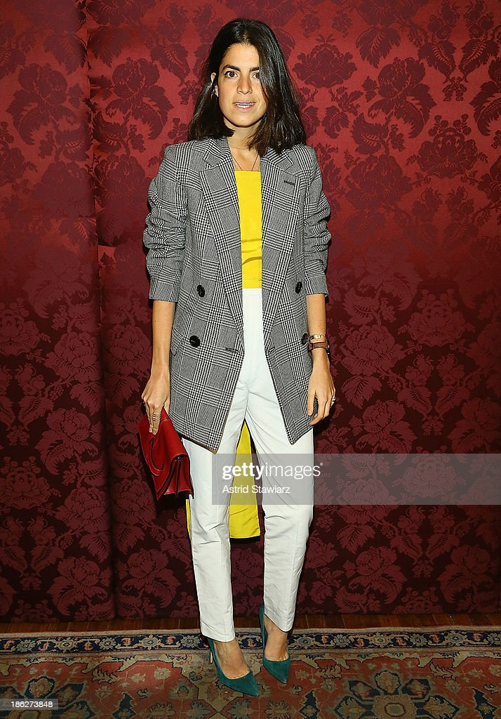 Blogger <a gi-track='captionPersonalityLinkClicked' href=/galleries/search?phrase=Leandra+Medine&family=editorial&specificpeople=7491795 ng-click='$event.stopPropagation()'>Leandra Medine</a> attends the 19th Annual Artwalk NY at 82 Mercer on October 29, 2013 in New York City.
