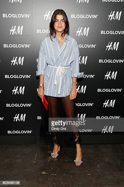 Blogger Leandra Medine attends the Blog Lovin' Awards at Industria Superstudio on September 12 2016 in New York City