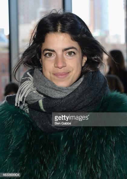 Blogger Leandra Medine attends the Jason Wu fashion show during MercedesBenz Fashion Week Fall 2015 at Spring Studios on February 13 2015 in New York...