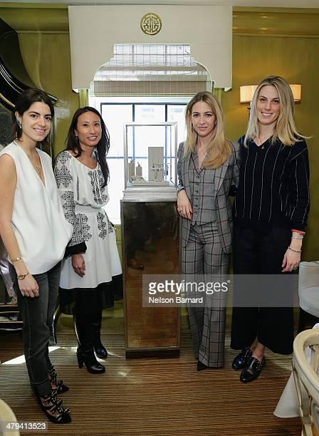 Blogger Leandra Medine SVP GMM Fine Apparel Designer Sportswear and Jewelry at Bergdorf Goodman Elizabeth von der Goltz jewelry designer Sabine...