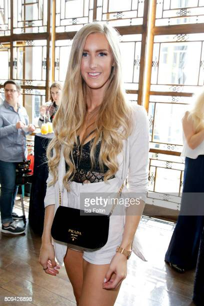 Blogger Leslie Huhn attends the Thomas Sabo Press Cocktail during the MercedesBenz Fashion Week Berlin Spring/Summer 2017 at China Club on July 5...