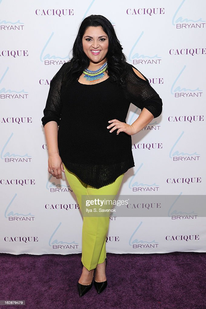 Blogger Marcy Guevara attends Carnie Wilson & Jay Manuel Celebrate Lane Bryant's NYC Flagship on February 28, 2013 in New York City.
