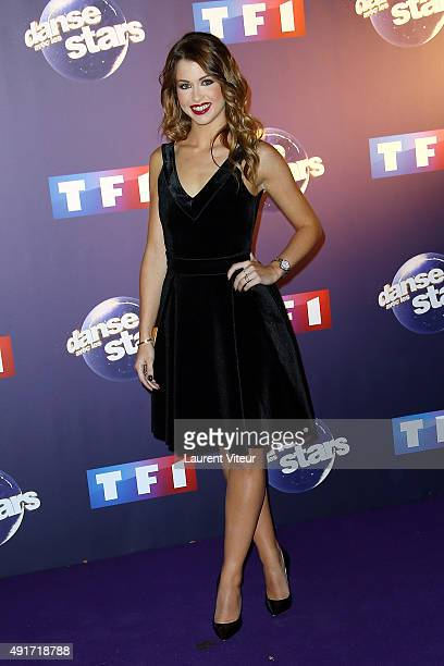 Blogger Marie Lopez aka Enjoy Phoenix attends the 'Danse Avec Les Stars 2015' Photocall At TF1 on October 7 2015 in Paris France