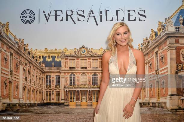 Blogger Marissa Baum attends as Ovation TV celebrates the US launch of Versailles Season Two at The French Embassy on September 27 2017 in New York...