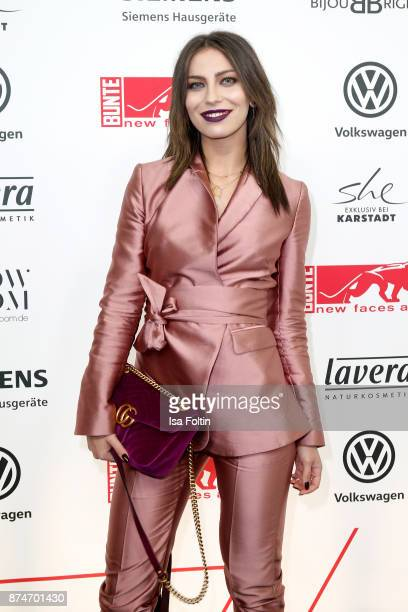 Blogger Masha Sedgwick attends the New Faces Award Style 2017 at The Grand on November 15 2017 in Berlin Germany