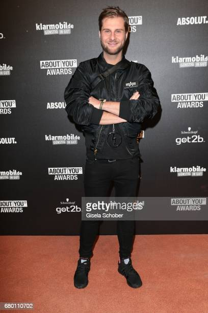 Blogger Maurice Gajda during the ABOUT YOU AWARDS at the 'Mehr Theater' in Hamburg on May 4 2017 in Hamburg Germany