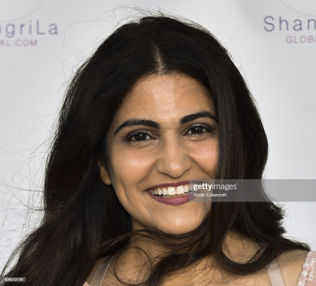Blogger Parisa Michelle Afsahi attends the ShangriLa global launch and pop-up store on August 20, 2017 in Beverly Hills, California.