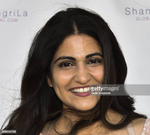 Blogger Parisa Michelle Afsahi attends the ShangriLa global launch and popup store on August 20 2017 in Beverly Hills California