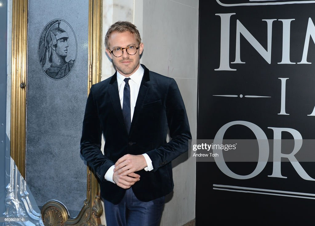 Blogger Patrick Janelle attends the American Express Celebrates The New Platinum Card With Hamilton Takeover Experience on April 1, 2017 in New York City.