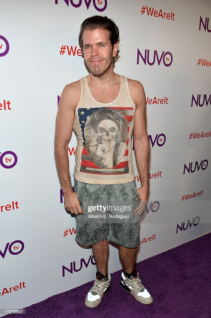 Blogger <a gi-track='captionPersonalityLinkClicked' href=/galleries/search?phrase=Perez+Hilton&family=editorial&specificpeople=598309 ng-click='$event.stopPropagation()'>Perez Hilton</a> arrives at the NUVOtv Network Launch Party at The London West Hollywood on July 16, 2013 in West Hollywood, California.