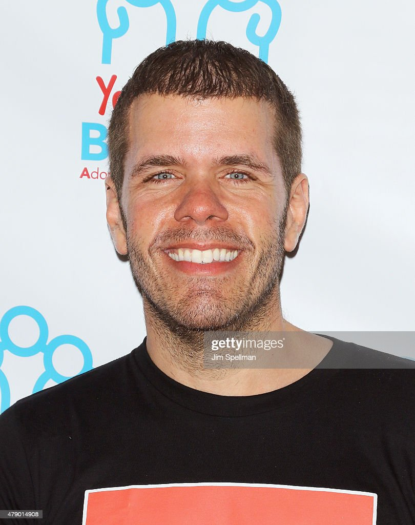 Blogger Perez Hilton attends the 'Voices For The Voiceless Stars For Foster Kids' event at the St James Theater on June 29 2015 in New York City