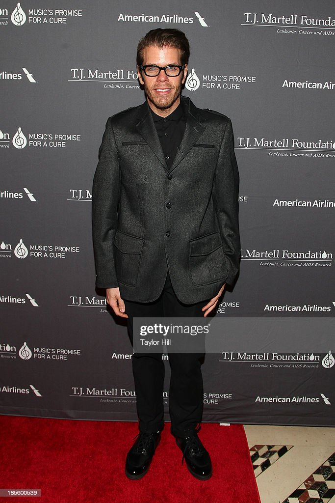 Blogger <a gi-track='captionPersonalityLinkClicked' href=/galleries/search?phrase=Perez+Hilton&family=editorial&specificpeople=598309 ng-click='$event.stopPropagation()'>Perez Hilton</a> attends T.J. Martell Foundation's 38th Annual Honors Gala at Cipriani 42nd Street on October 22, 2013 in New York City.