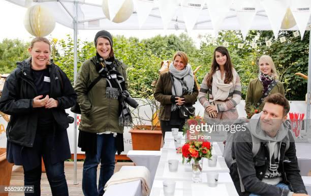 Blogger Rebekka Grunwald blogger Yvonne Homann Blogger Annalena Huppert blogger Sarah Kleiss and Mona Kleesiek and blogger Till Simoleit during the...