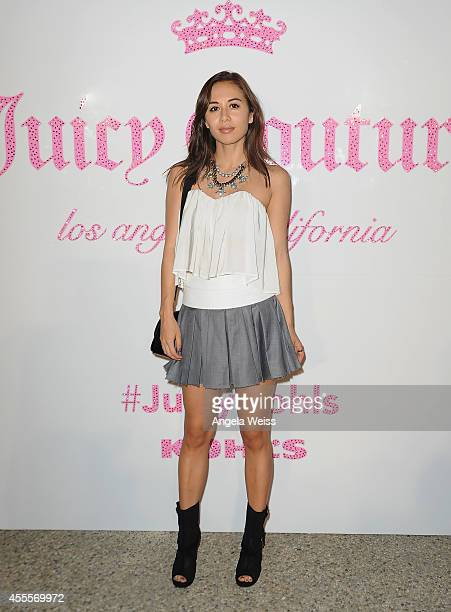 Blogger Rumi Neely attends Kohl's celebration of the Juicy Couture launch Now Available at Stores Nationwide and Kohlscom held at a private residence...
