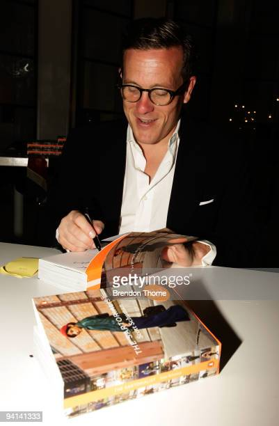 Blogger Scott Schuman know as The Sartorialist launches his eponymous book at Sass Bide Oxford Street on December 8 2009 in Sydney Australia Schuman...